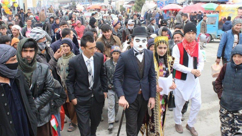 روز فرهنگ جهان در بلخ به روایت تصویر