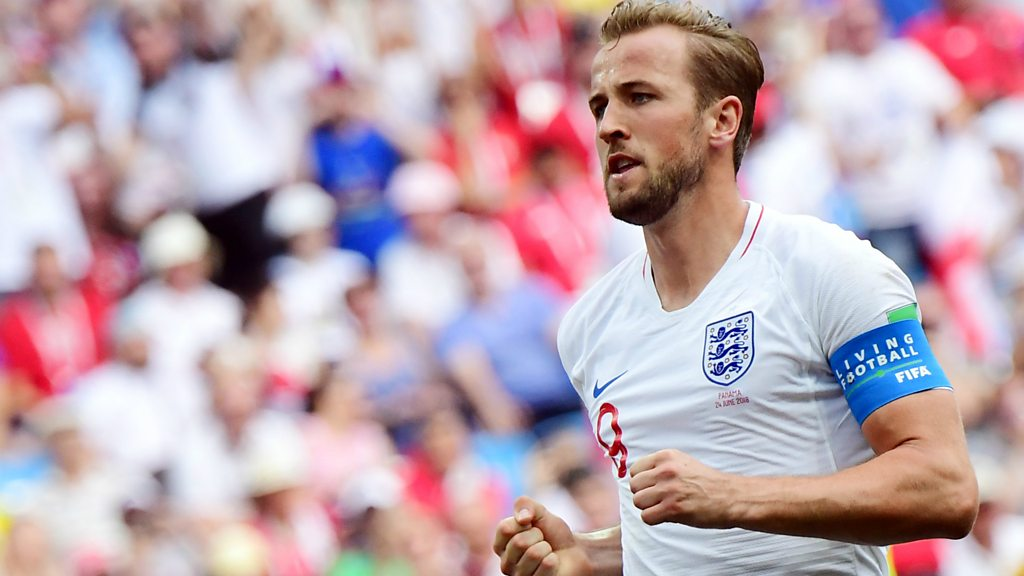 Kane's second emphatic penalty puts England 5-0 up before half-time