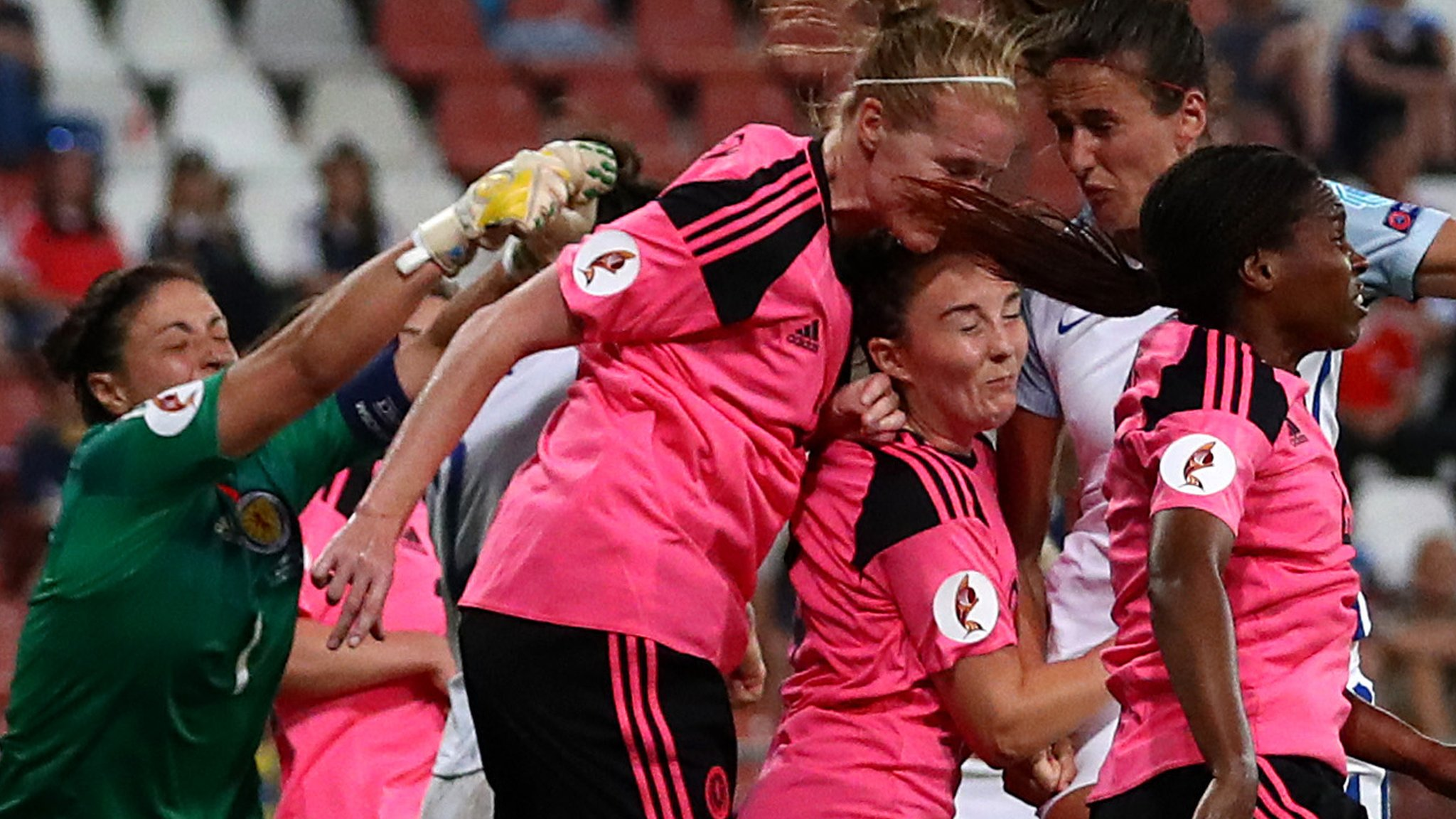 Women's World Cup: Scotland better than last year - England boss Phil Neville