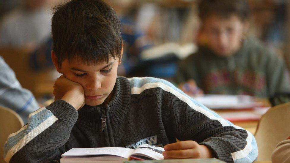 صورة لأطفال في مدارس
