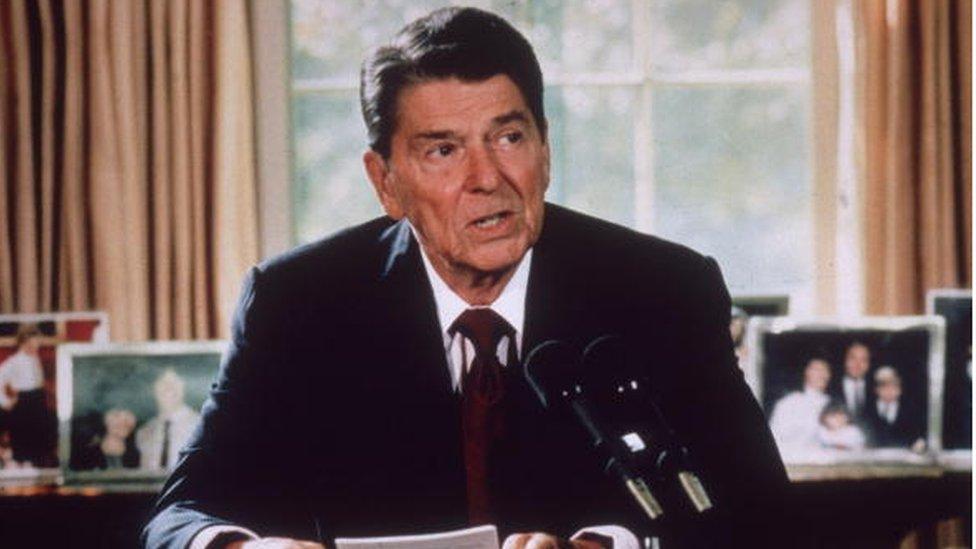 Reagan, hasta la llegada de Trump, había sido el presidente más viejo en llegar la Casa Blanca. (Foto: Hulton Archive)