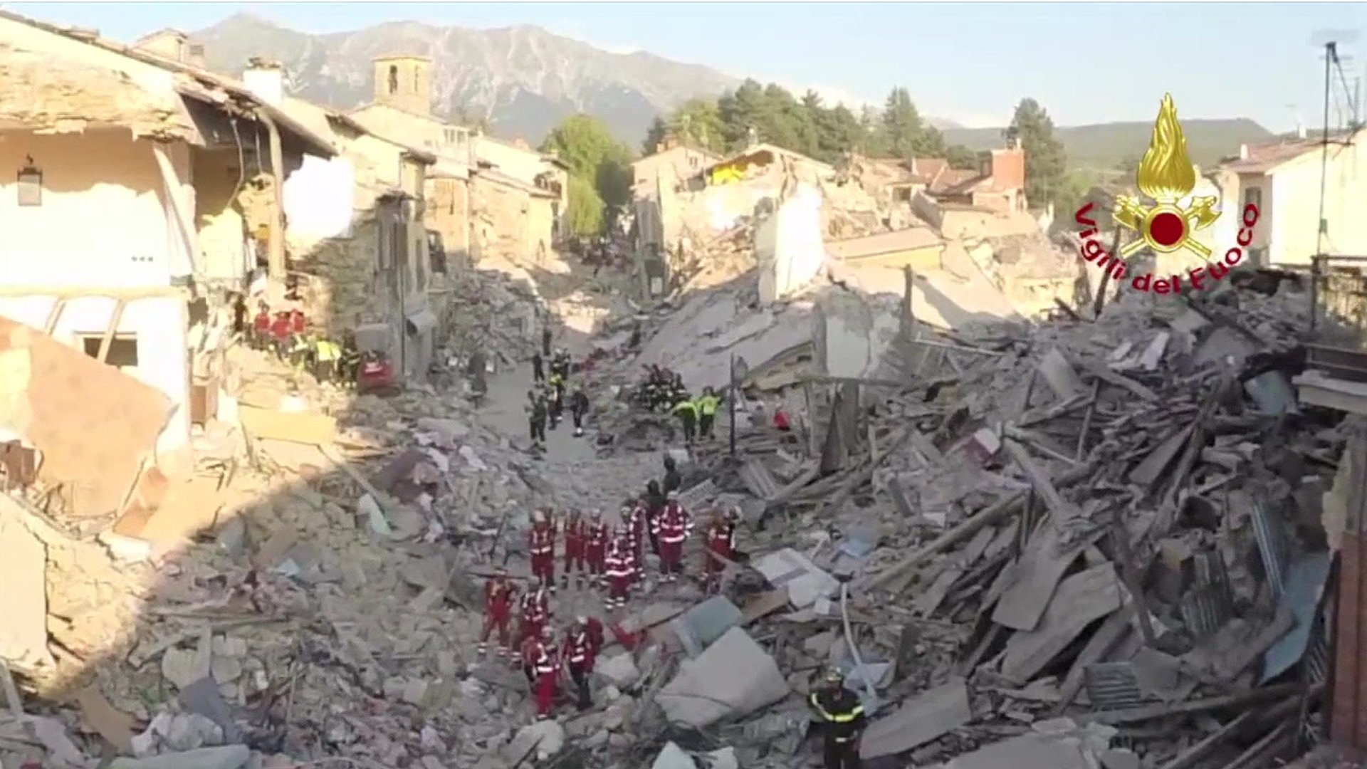 'Nowhere in Amatrice safe to live in' after Italy quake