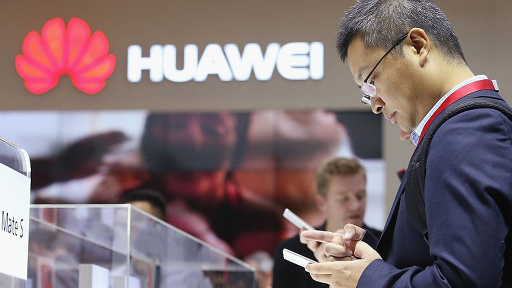 Huawei smartphone sales hit amid US curbs