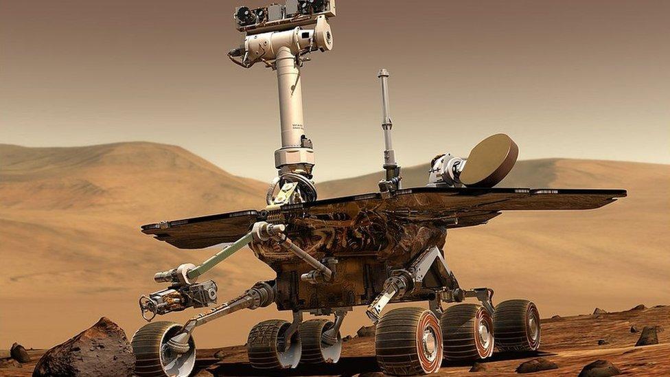 mars opportunity rover bbc - photo #5