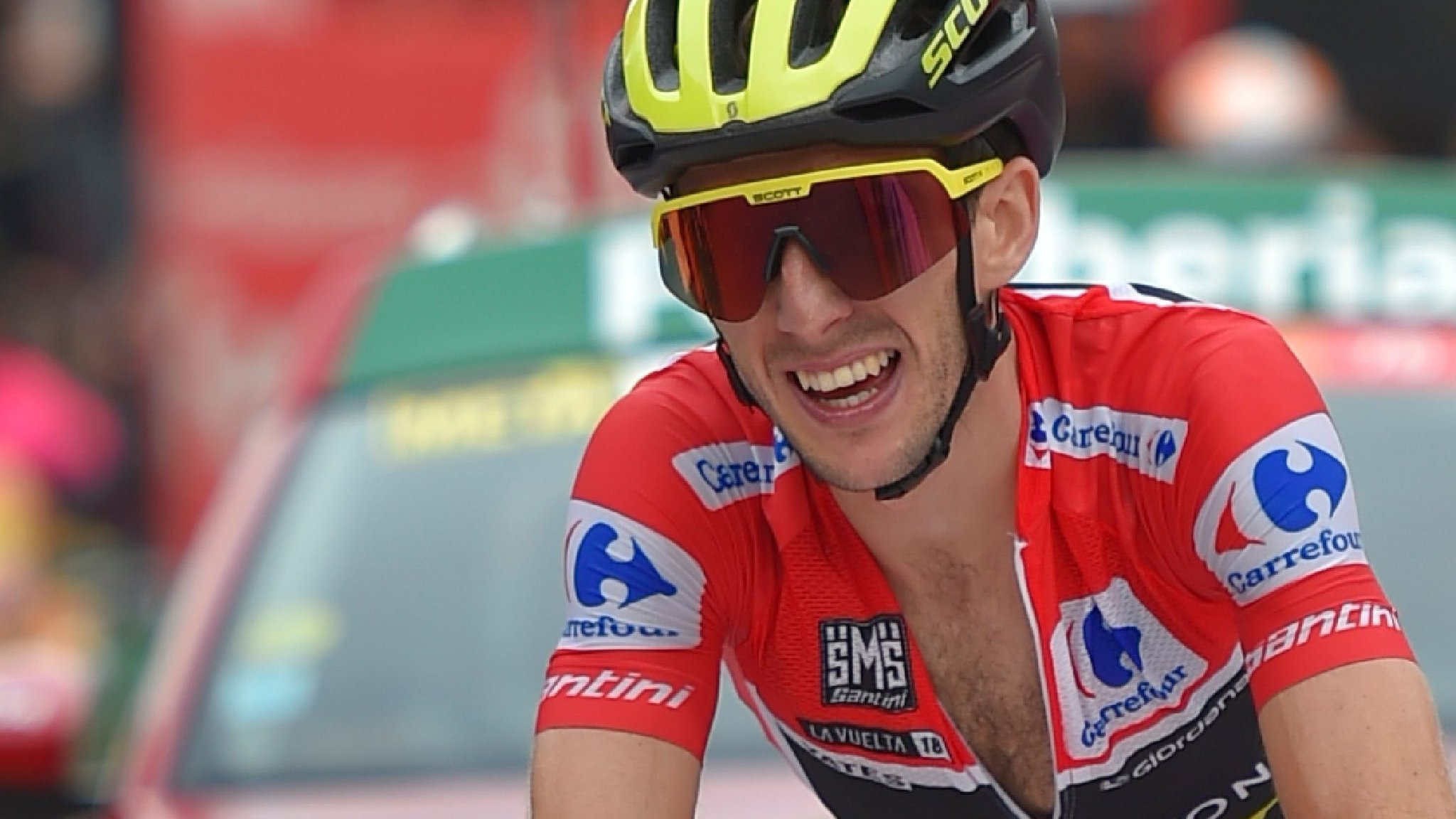 Britain's Simon Yates on verge of Vuelta victory