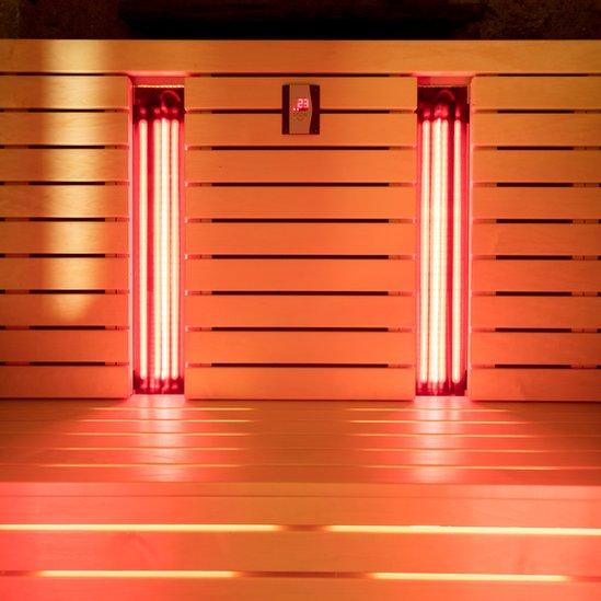 Sauna de rayos infrarrojos