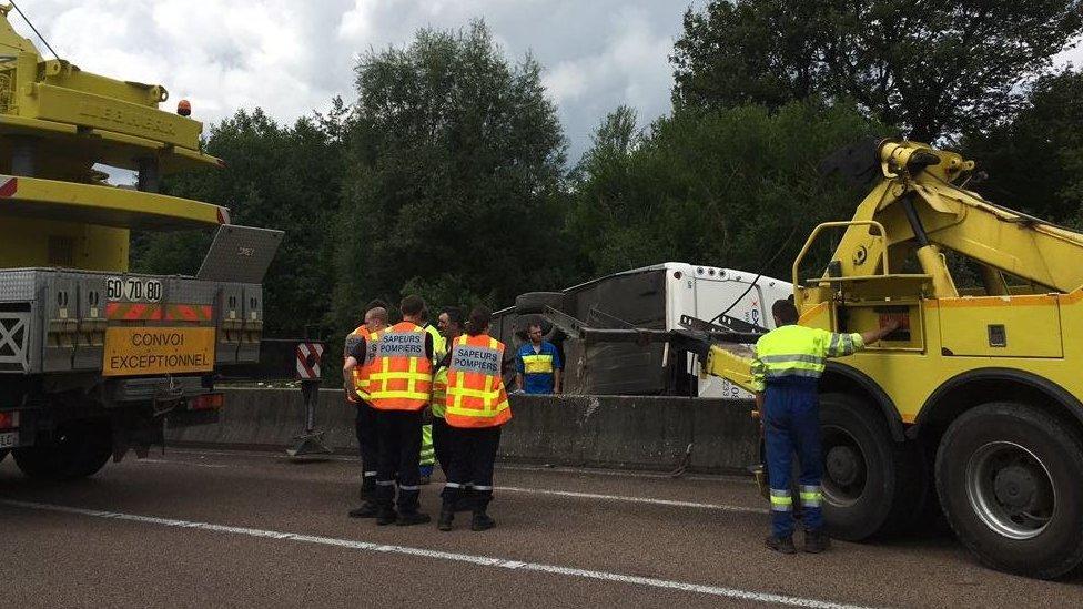 Cheltenham school pupils injured in France coach crash
