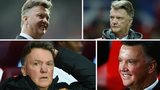 The many faces of Louis Van Gaal
