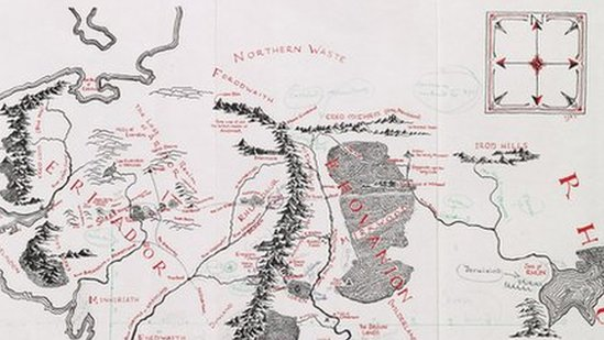 25+ Full Map Of Middle Earth Lonely Mountain PNG