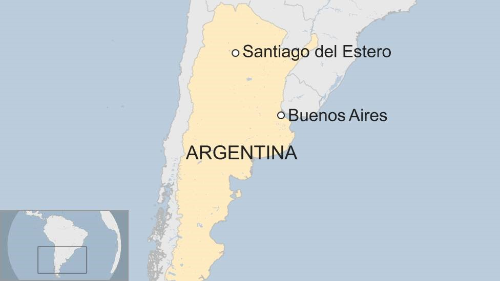 Argentina father jailed for keeping daughter as 'sex slave'
