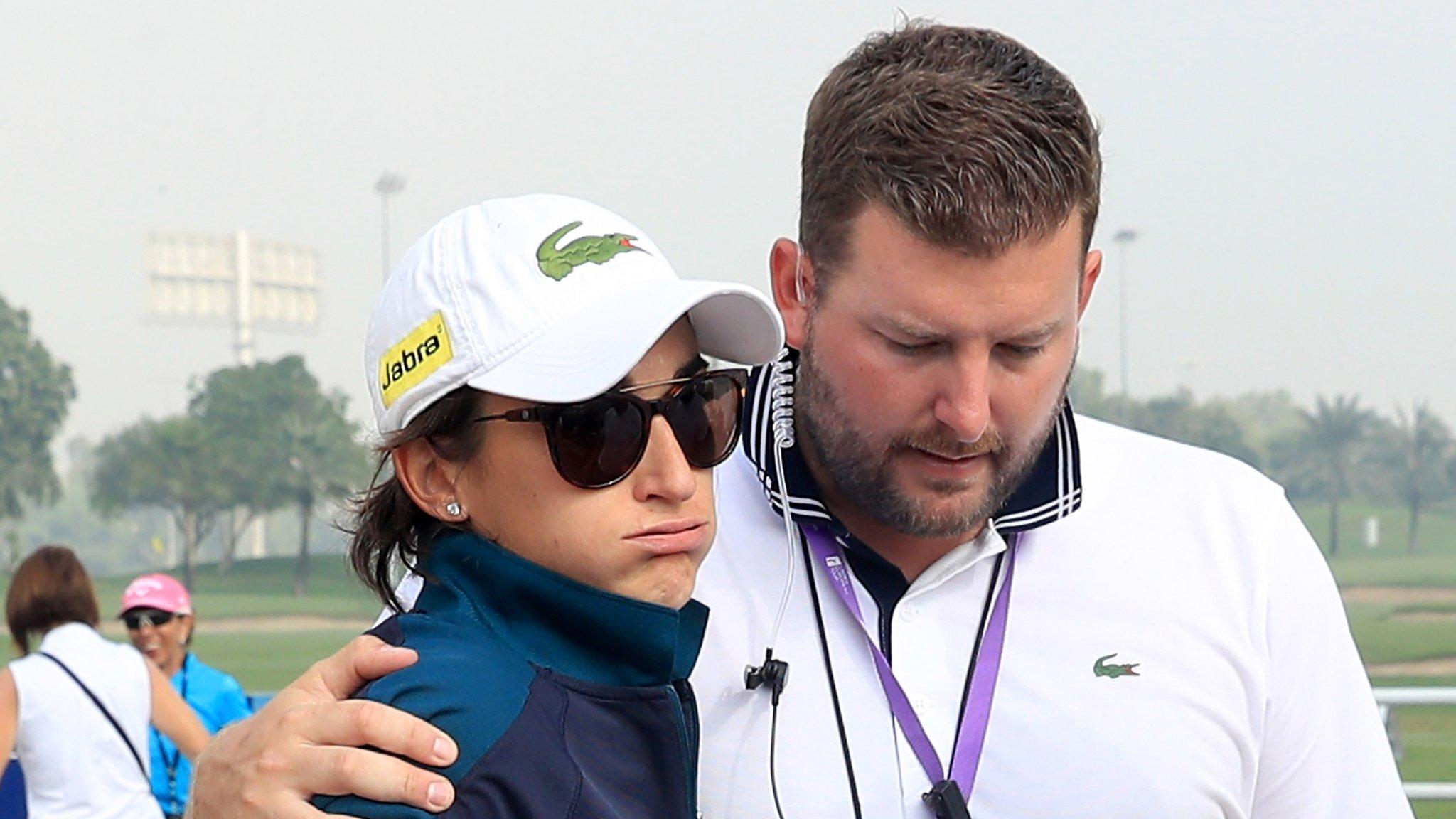 Dubai Ladies Masters: Caddie dies after collapsing during first round