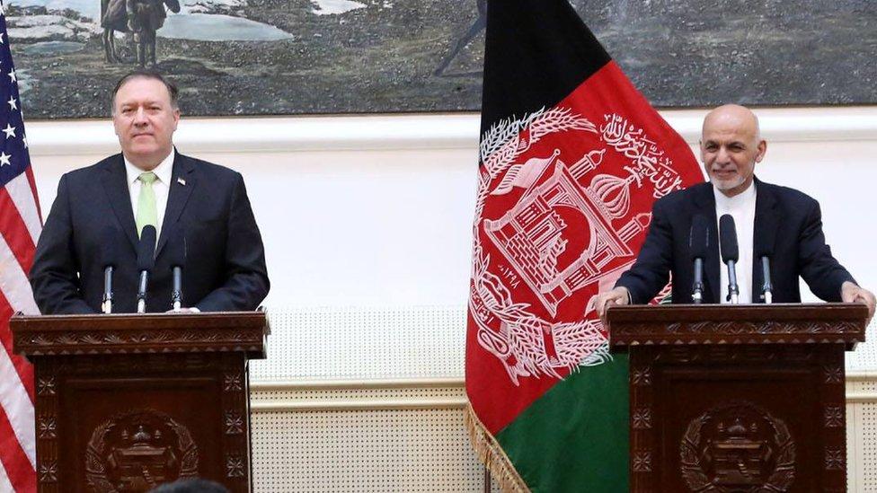 پومپیو: افغانان د سولې د خبرو مشري کوي