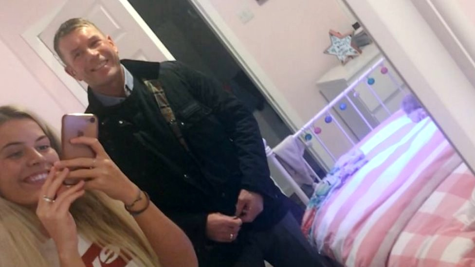 Daughter's tribute to father who attempted suicide