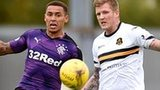 James Tavernier and Willie Gibson