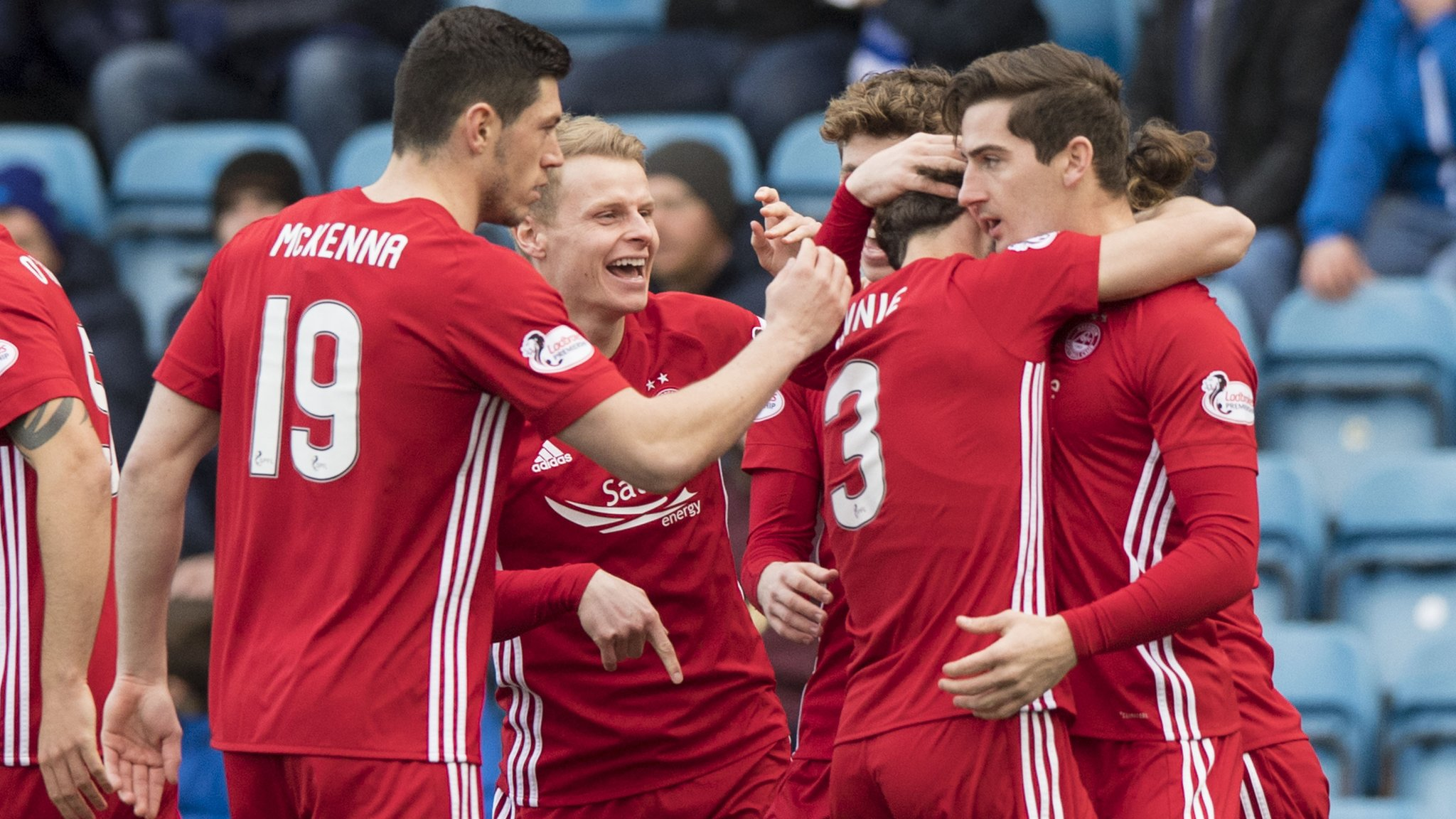Aberdeen win narrows gap to leaders Celtic