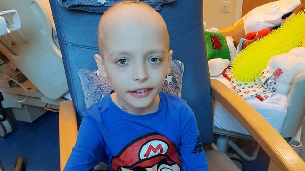 Swansea boy's 'neck pain' was rare throat cancer