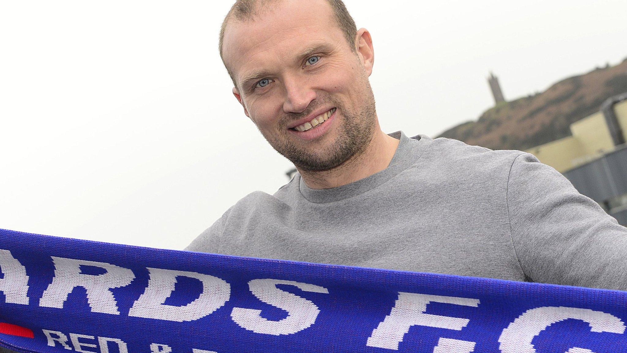 Warren Feeney: New Ards boss is 'buzzing' for Irish Premiership relegation battle