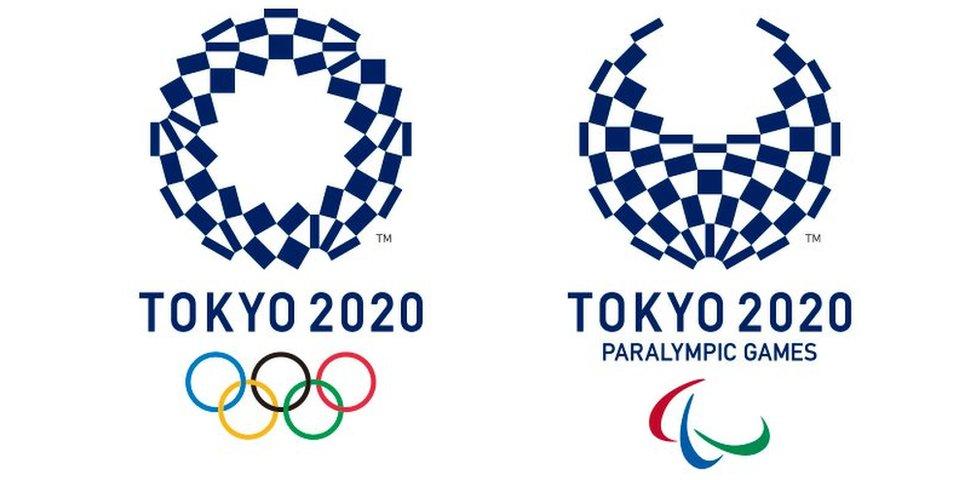 bbc news japan unveils tokyo 2020 olympic logos