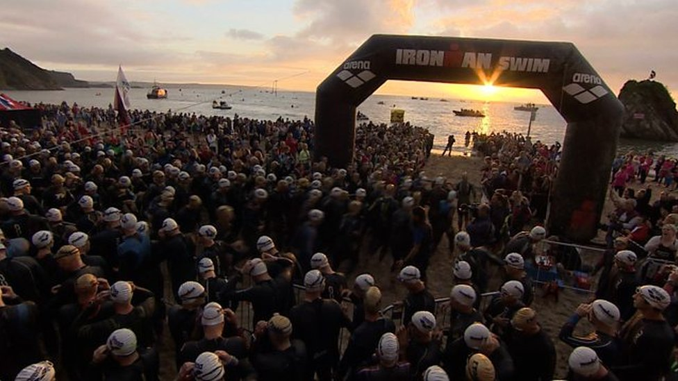 Tenby's Ironman Wales sells out in record time