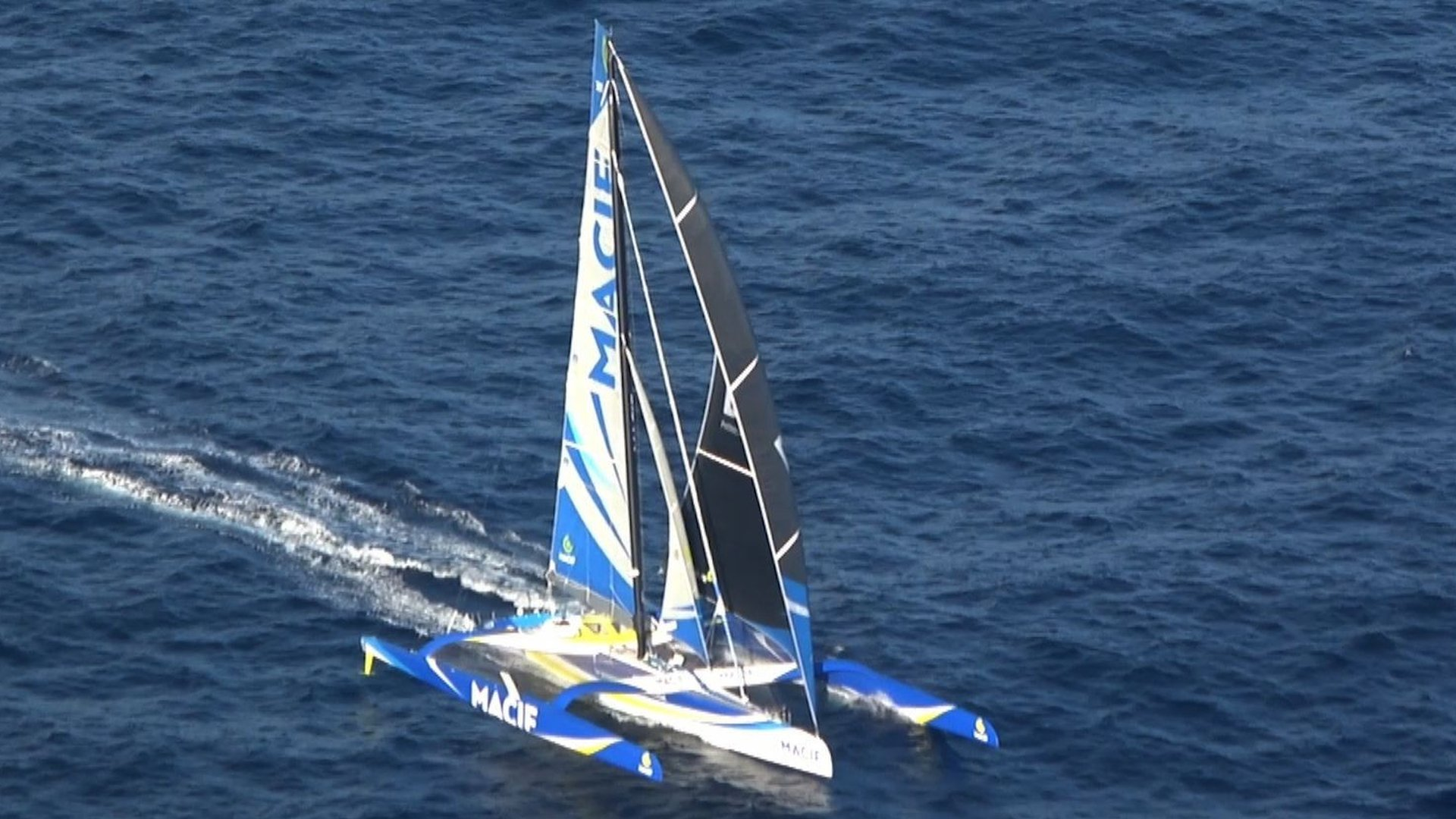 François Gabart: French sailor slashes around the world solo record