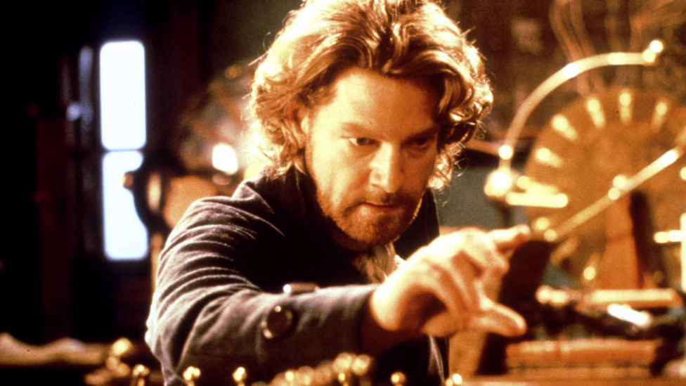 Kenneth Branagh en Frankenstein de Mary Shelley