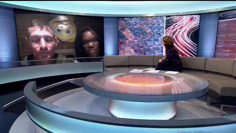 Kent y Whittier entrevistados por la BBC