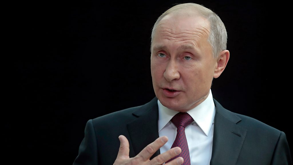 MH17 crash: Putin says Russia 'absolutely disagrees' with evidence