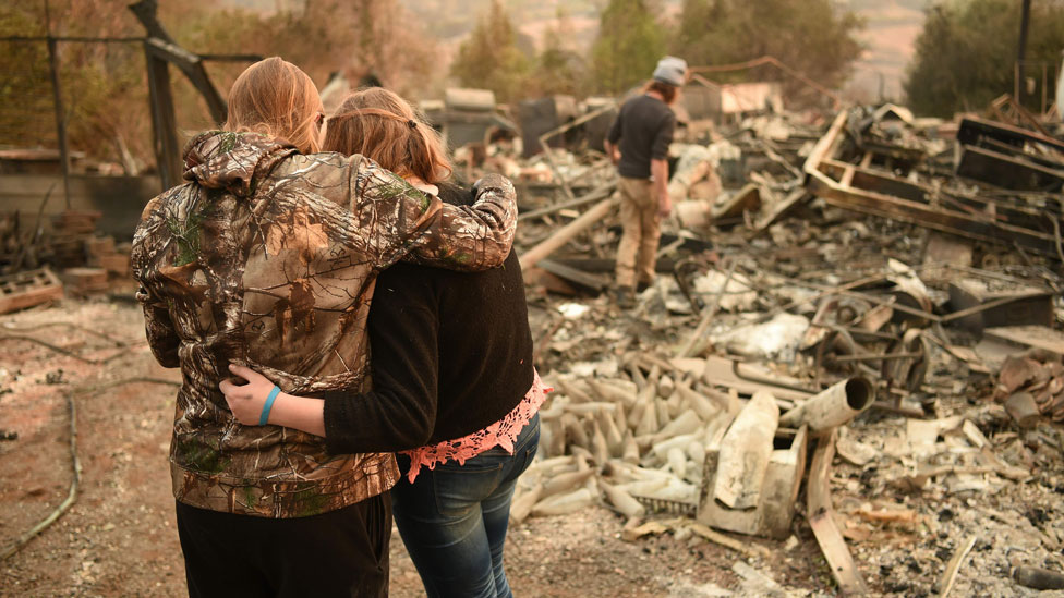 California wildfires: Thanksgiving hope from ashes of Paradise