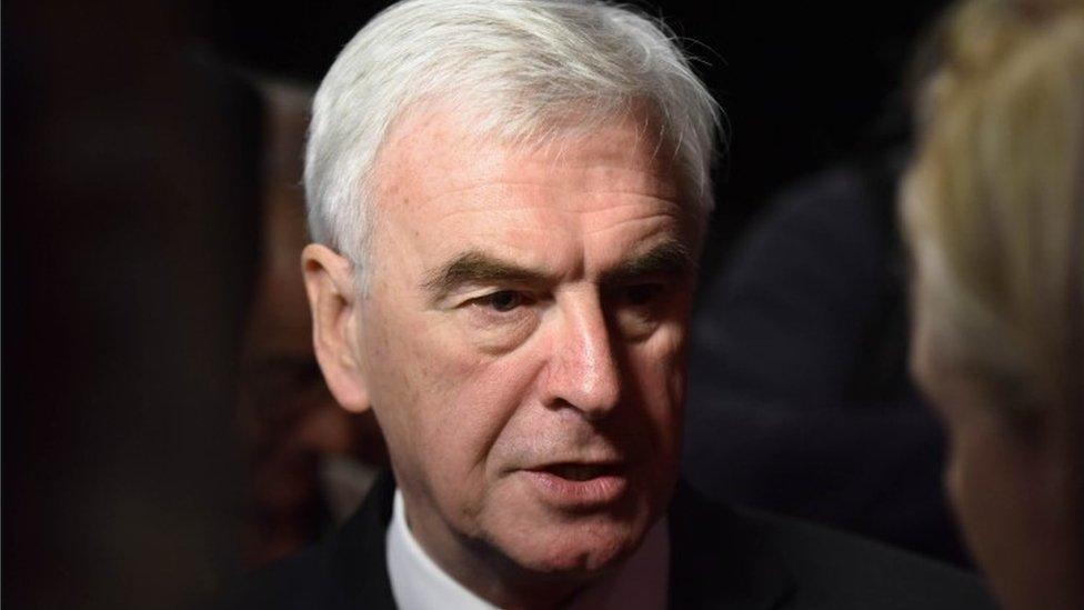 John McDonnell: Intervention key to post-Brexit prosperity