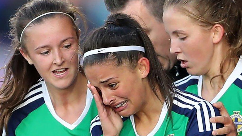 Historic night as Northern Ireland draw in Uefa Under-19 Championship