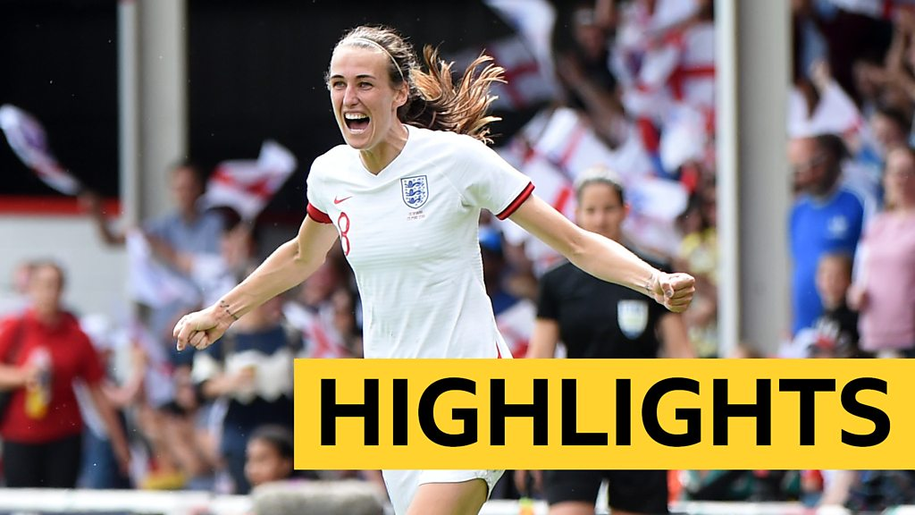 Watch: England beat Denmark in World Cup warm-up