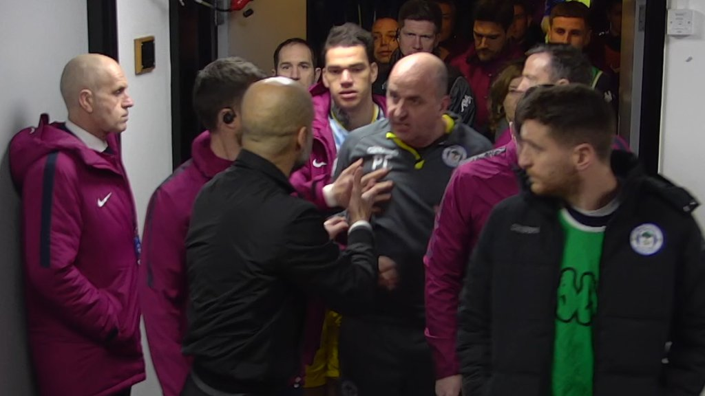 FA Cup: Fabian Delph red card - MOTD pundits discuss Manchester City defender's sending off