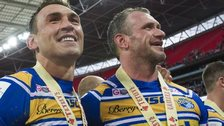 Kevin Sinfield and Jamie Peacock