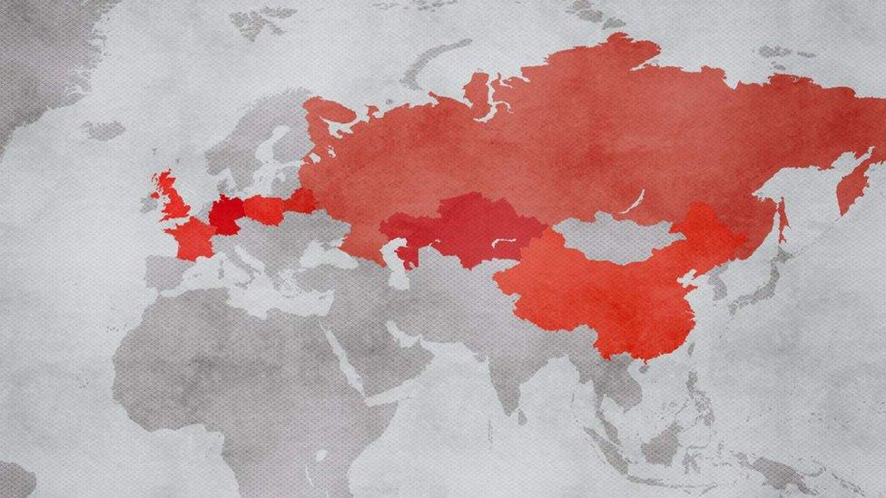 La nueva Ruta de la Seda atraviesa nueve países y tiene una extensión de más de 11.000 kilómetros.