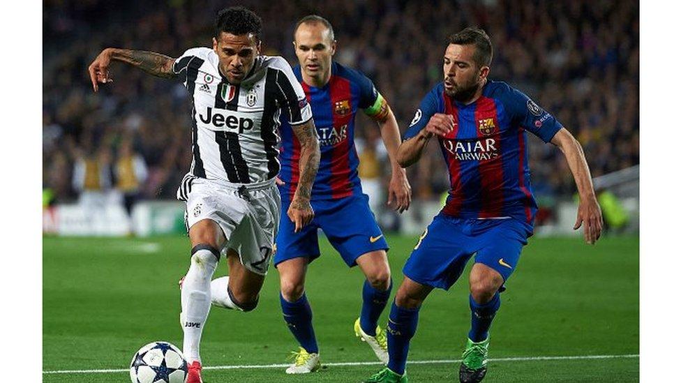 Le Barça éliminé par Juventus