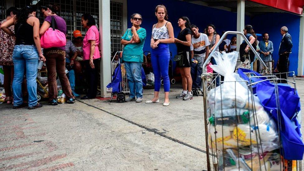 La mala situación de la economía venezolana ha repercutido sobre los indicadores sociales.