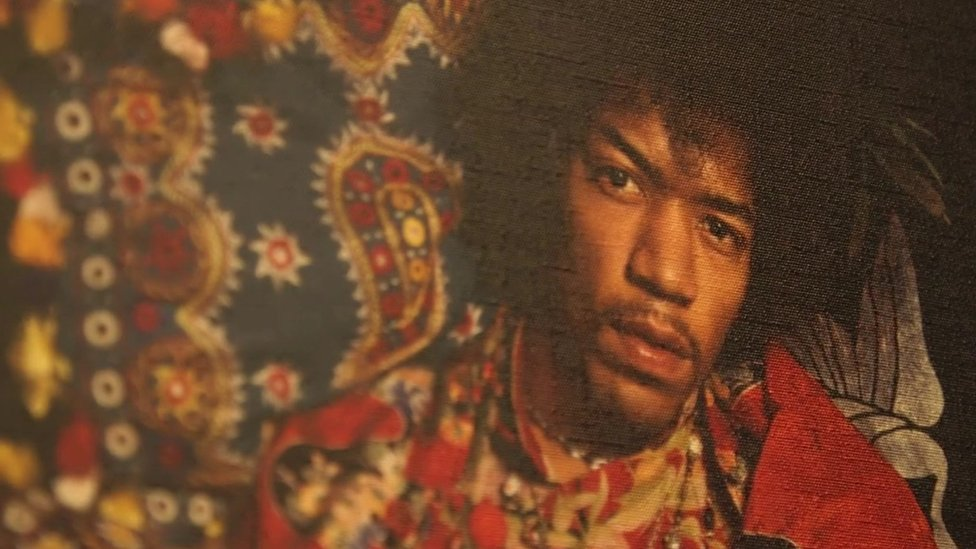 A look around Hendrix's London home