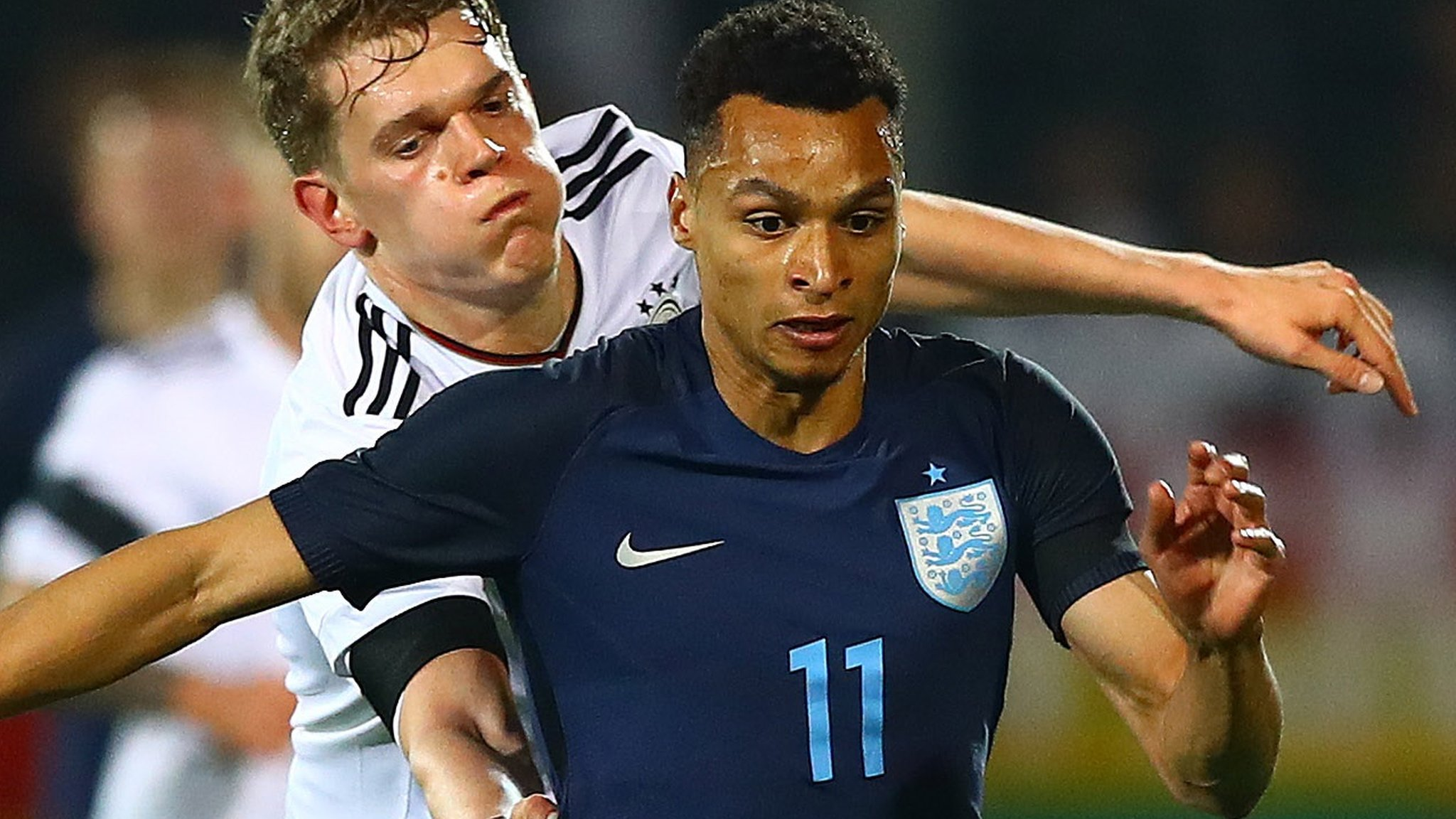 England U21s slip to defeat in Germany