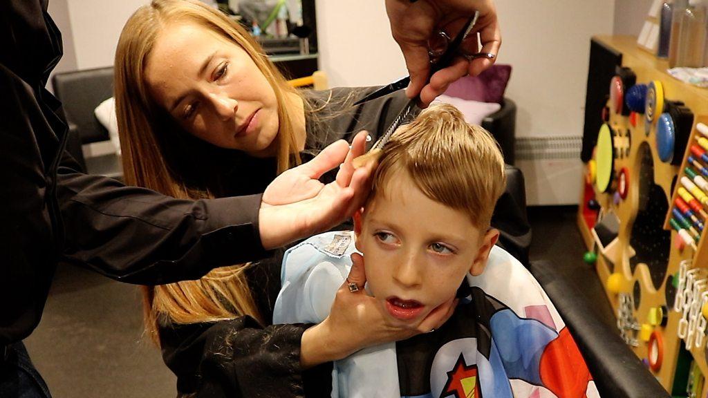 Nephew, 5, inspires hairdresser's Spargoland 'sensory' salon