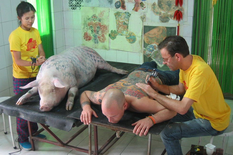 Proceso de tatuaje