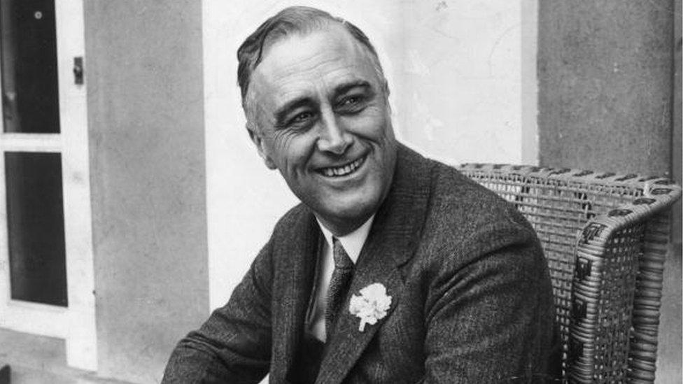 Franklin D. Roosevelt fue presidente en cuatro ocasiones. (Foto: Hulton Archive)