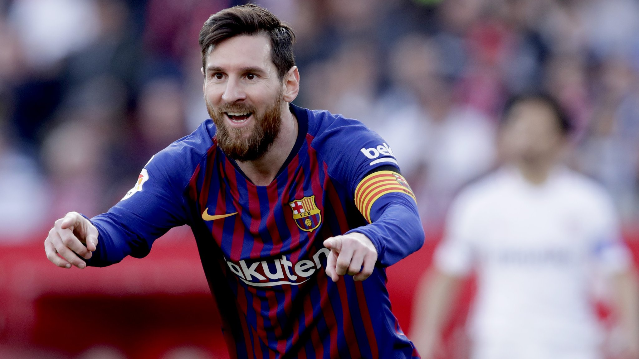 Sevilla 2-4 Barcelona: Lionel Messi scores 50th hat-trick in win