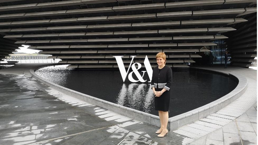 Truth or Not? Nicola Sturgeon 'overawed' by 'world-class' V&A Dundee