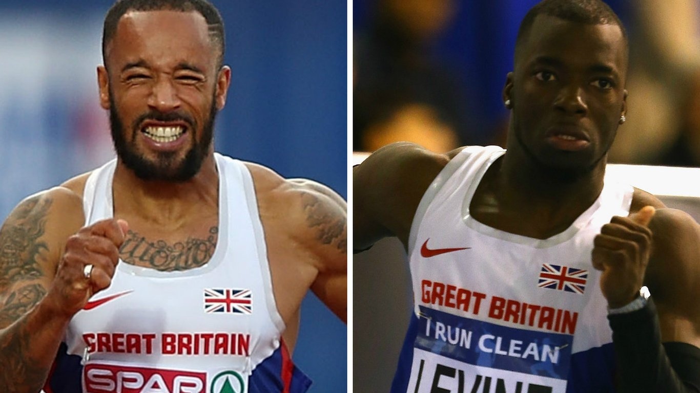 James Ellington & Nigel Levine: British sprinters truly blessed to be alive