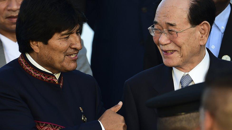 Bolivia es una de las naciones que comercia con Corea del Norte.