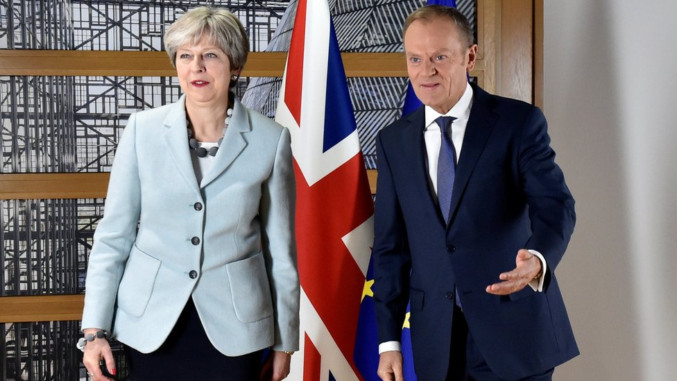 Donald Tusk calls Brexit talks a furious race against time