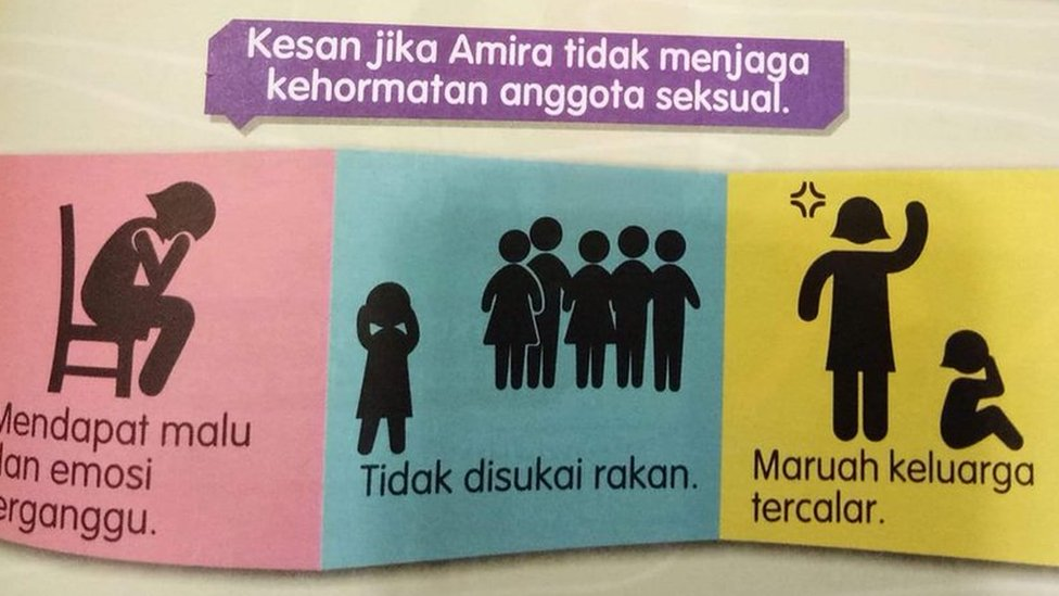Malaysia revises 'victim-shaming' school text book