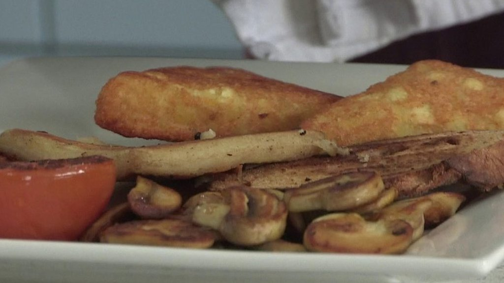What would a vegan Ulster fry look like?