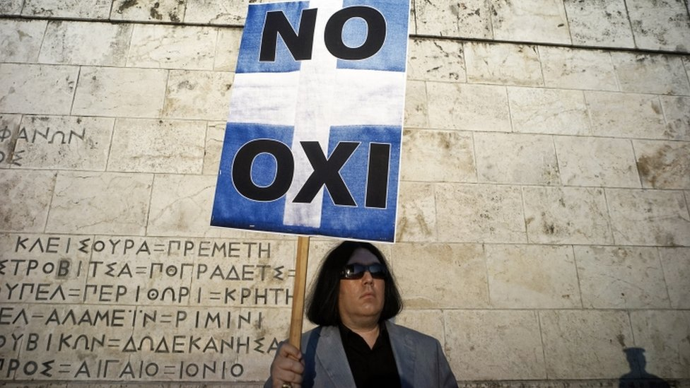 Greek PM Alexis Tsipras threatens to resign if the result of a snap referendum on Greece's debt crisis due on Sunday does not go his way.
