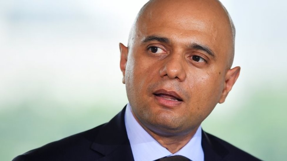 Home Secretary Sajid Javid reveals moped mugging